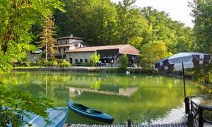 PARCO MATILDICO: Fino a 3 ingressi al Parco Matildico con passeggiata sui laghi, percorso avventura, canoa e pranzo (sconto fino a 52%)