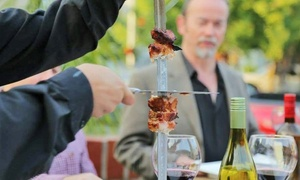 Brasa Churrascaria & Brew Pub: Gift Card forBrazilian Barbecue at Brasa Churrascaria & Brew Pub (Up to 30% Off). Two Options Available.