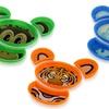 Build-a-Meal Animal Plates (4-Piece)