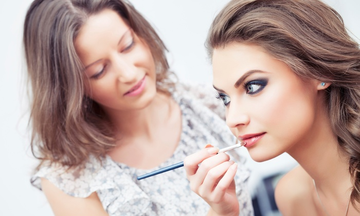 D Salon-samantha Escobedo - Palm Beach: Makeup Lesson and Application from D Salon (50% Off)