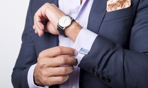 Bentex Suits (Melbourne): $499 for a Tailor-Made Bespoke Two-Piece Super 100 Wool Suit from Bentex Suits, Greater Melbourne (Up to $999 Value)