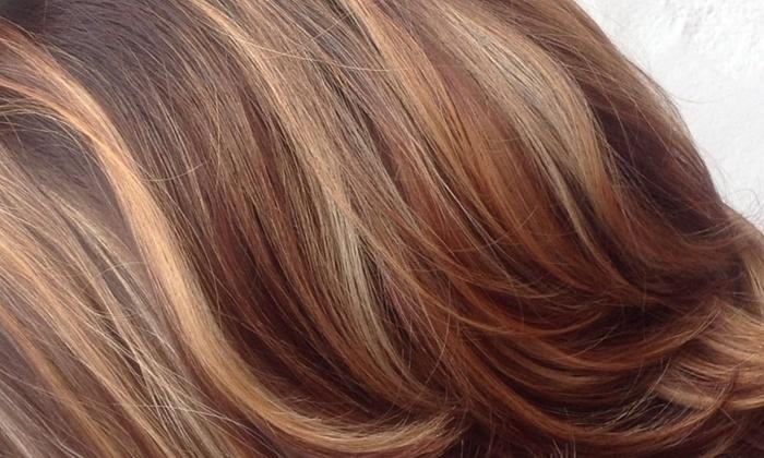 Monica Montalvo @V Salon - Laguna Beach: Up to 50% Off Haircut and Color at Monica Montalvo @V Salon