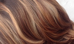 Monica Montalvo @V Salon: Up to 52% Off Haircut and Color at Monica Montalvo @V Salon