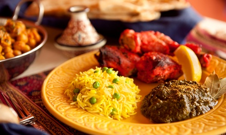 $15 for three Groupons, each good for $10 worth of Indian cuisine at Bombay Restaurant Cuisine of India
