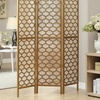 Up to 58% Off a Monarch Three-Panel Folding Room Divider