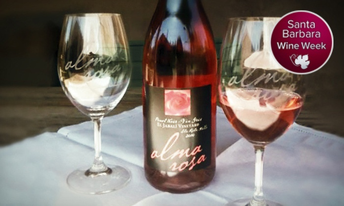 Alma Rosa Winery & Vineyards - Lompoc: Wine Tasting for Two or Four with Bottle of Wine at Alma Rosa Winery & Vineyards (Up to 53% Off)