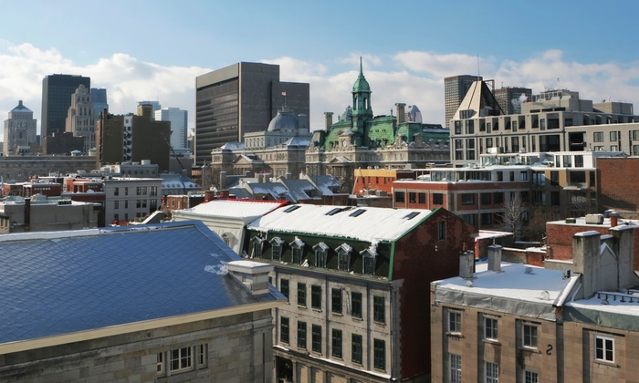 Hotel Quartier des Spectacles - Montreal: 1- or 2-Night Stay for Two with Optional Massages at Hotel Quartier des Spectacles in Montreal, Valid Sunday–Thursday