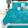 Embroidered Comforter Set (7-Piece)