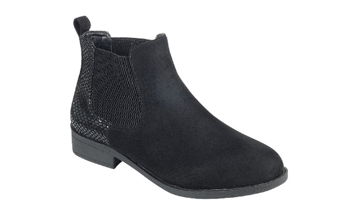 7748499b0dcc Mata Low Heel Casual Women s Ankle Boots
