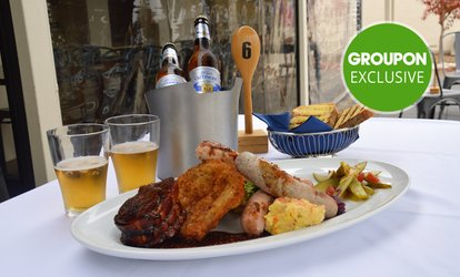 German Feast with Side Dish for Two ($29) or with Beer for Four People ($80) at German Spoon (Up to $161.20 Value)