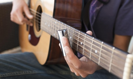 Four Private Music Lessons from White Meadow  Music (50% Off)