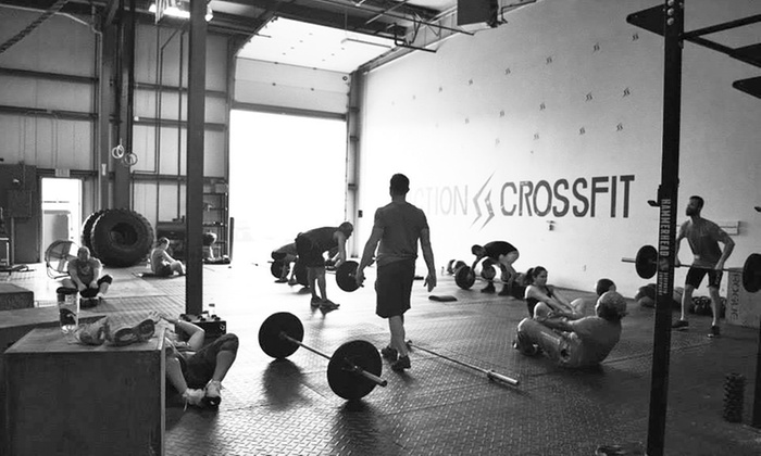 Friction CrossFit - Grand Rapids: $25 for 30 Days of Unlimited Bootcamp at Friction CrossFit($79 Value)