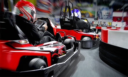 $44 for a Racing Package with Four Races and Two Yearly Licenses at K1 Speed (Up to $91.96 Value)