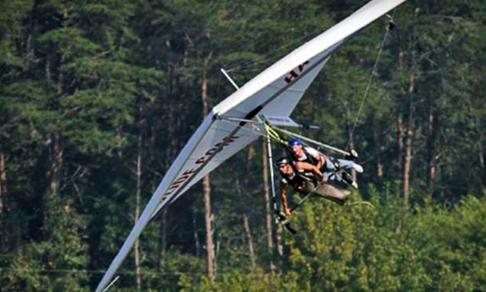 Wisconsin Hang Gliding LLC - Whitewater: $ 139 for a Tandem Hang-Gliding Flight at Wisconsin Hang Gliding LLC ($ 259 Value)