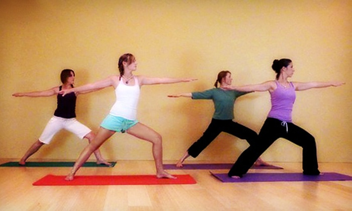 The Studio - Reno: 60-Minute Massage or Month of Unlimited Yoga Classes at The Studio (Up to 71% Off)