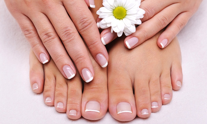 Anna Stevens Salon - Nails by Luna - Boynton Beach: Regular Mani-Pedi or Gel Manicure with a Hot-Stone Pedicure at Anna Stevens Salon - Nails by Luna (Up to 54% Off)