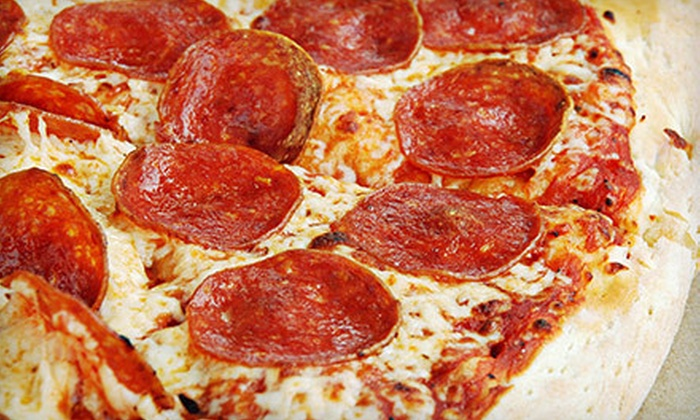 Campelli's Pizza - Kaseberg - Kingswood: $15 for $30 Worth of Pizza and Drinks or Pizza Meal with Salad, Breadsticks, and Drinks for Four at Campelli's Pizza