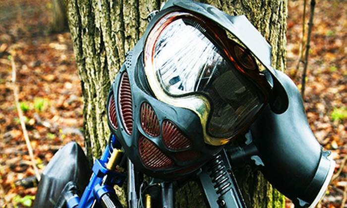Jungle Island Paintball Park - Temescal Valley: Paintball Outing for One, Two, or Four or One Admission to Jungle Island Paintball Park (Up to 66% Off)