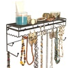Wall-Mounted Jewelry Rack
