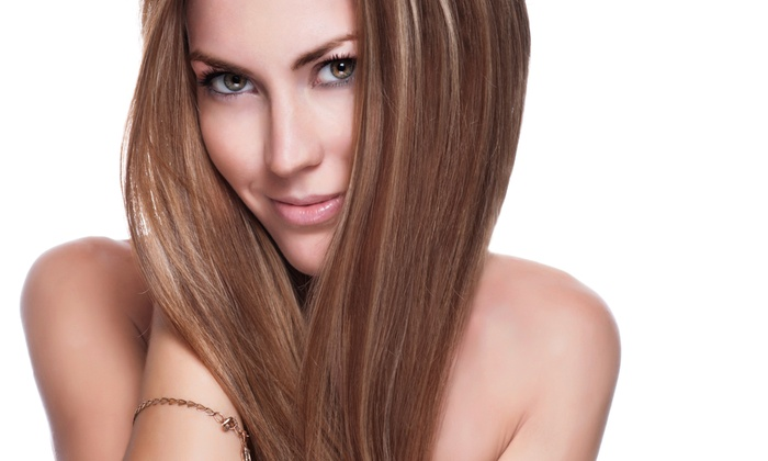 Salon Envy - DePaul: Haircut with Optional Partial or Full Highlights at Salon Envy (Up to 46% Off)