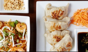 The Local Thai Lounge: Dinner for Two at The Local Thai Lounge (Up to 43% Off)