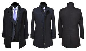 Costumes (BE): Mantel van Traxx voor mannen voor € 49,50 bij Costumes