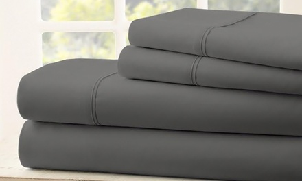 Labor Day Sale 1900 Thread-Count Egyptian Cotton Bamboo Quality Sheet Set (6-Piece) 80% off at Royal Bliss Linens