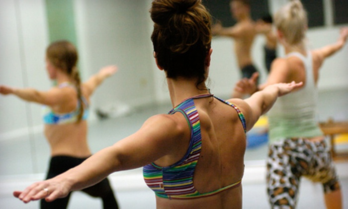 Breathe Hot Yoga - Multiple Locations: One Month of Unlimited Classes or 10 or 20 Classes at Breathe Hot Yoga (Up to 78% Off)