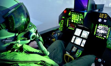 Vol à bord dun simulateur davion de chasse F 16 au choix entre 2, 4 ou 6 sessions ou pack dès 69 €