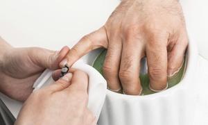 Marquis DeVon Men's Grooming Studio: Up to 57% Off MAN-icures & wax at Marquis DeVon Men's Grooming Studio- Rachelle