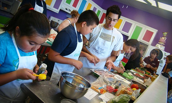 Young Chefs Academy - Stone Oak: Children's Cooking Class at Young Chefs Academy San Antonio (Up to 50% Off). Six Options Available.