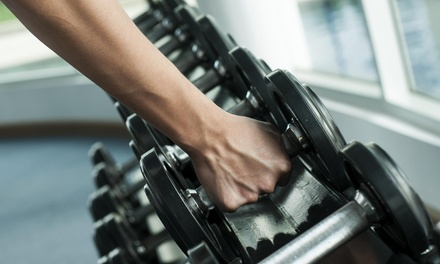 C$24 for C$75 Worth of Gym Membership at Anytime Fitness