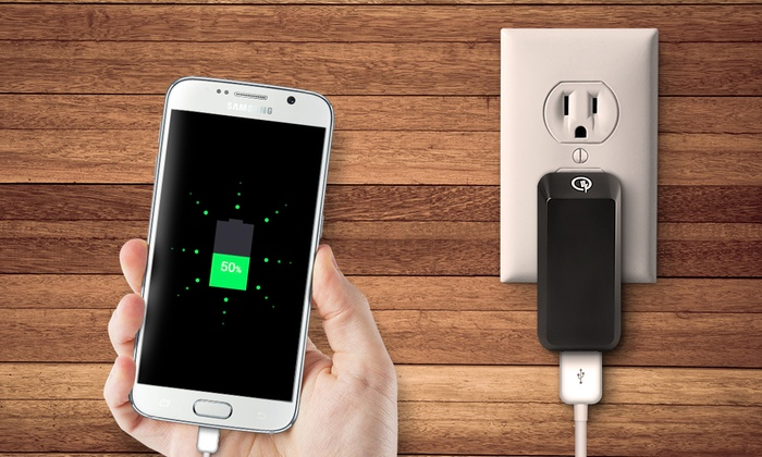 Aduro Quick Charge 2.0 USB Charger (1- or 2-Pack): Aduro Quick Charge 2.0 USB Charger (1- or 2-Pack)