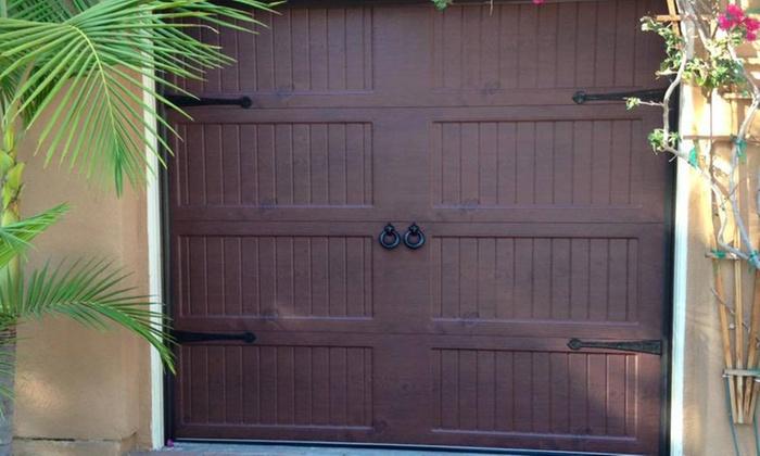 Golden Rule Architecture garage door tune-up - golden rule garage door   groupon