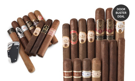 Cigar Sampler Bundles. Multiple Bundles Available from $29.99–$39.90.