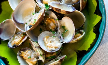 Three-Course Portuguese Prix-Fixe Dinner for Two or Four at Tavira Restaurant (Up to 47% Off)