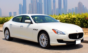 Bravo Luxury Car Rents Dubai: One-Day Maserati or Bentley Rental from Bravo Luxury Car Rents Dubai (Up to 42% Off)