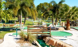 All Golf Center: Round of Mini Golf with Driving-Range Balls and Ice Cream or Drinks for Two or Four at All Golf Center (Up to $ Off)