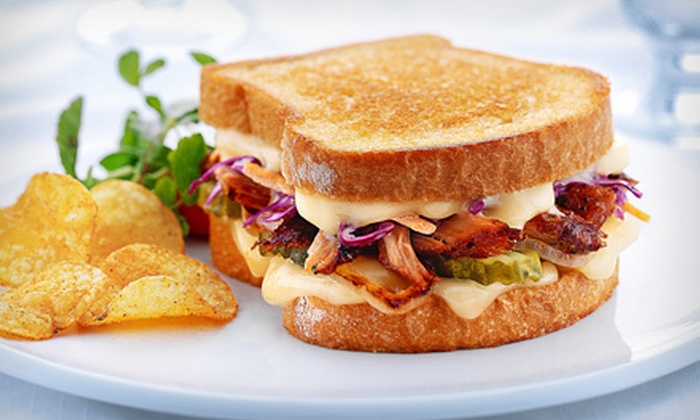Melthouse Bistro - Lower East Side: $8 for $16 Worth of Gourmet Grilled-Cheese Sandwiches and Drinks at Melthouse Bistro