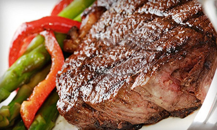 Frontier Meats - Fort Worth: Eight 12 oz. Striploin Steaks or $25 for $50 Worth of Meat Products from Frontier Meats