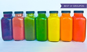 Juicer Heroes: Fresh Cold-Pressed Juice and Cleanses at Juicer Heroes (Up to 40% Off)
