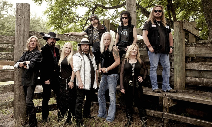 Lynyrd Skynyrd - Verizon Theatre at Grand Prarie: Lynyrd Skynyrd, Eddie Money, Blue Oyster Cult, and Stone Cold Sweat on Friday, June 12 (Up to 52% Off)