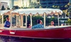 Half Off Electric-Boat Rental for Up to 10
