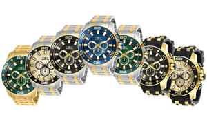 Invicta Pro Diver 50mm Chronograph Stainless Steel Watch