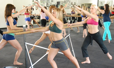 $39 for 10 Cardio Barre Classes Plus Free Childcare at Cardio Barre South Jordan ($150 Value)
