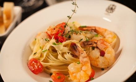 Three-Course Italian Dinner for Two or Four at C House Lounge Café (Up to 55% Off)