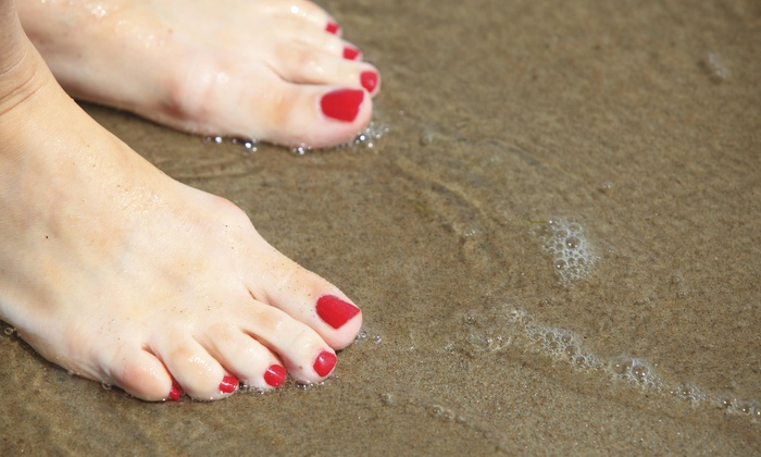 Aisha's Place - Beechwood: A Manicure and Pedicure from Aisha's Place (50% Off)