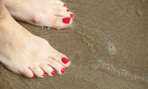 Aisha's Place: A Manicure and Pedicure from Aisha's Place (50% Off)