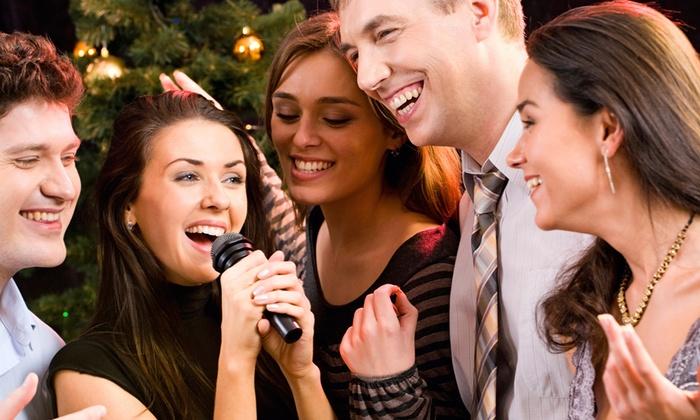 Mermaid Karaoke - University World: Asian Food and Drinks or Two-Hours of Karaoke for Up to 25 at Mermaid Karaoke (Up to 50% Off)