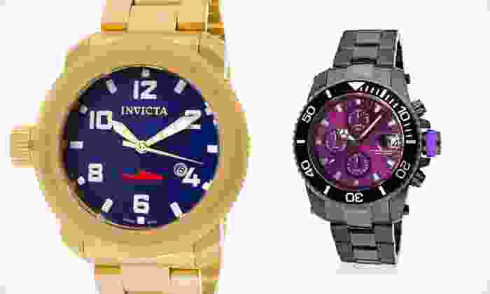 Invicta Luxury Men's Diver Watch: Invicta Luxury Men's Diver Watch (Up to 93% Off). 12 Options Available. Free Shipping.